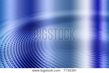 Blue Diagonal Ripples