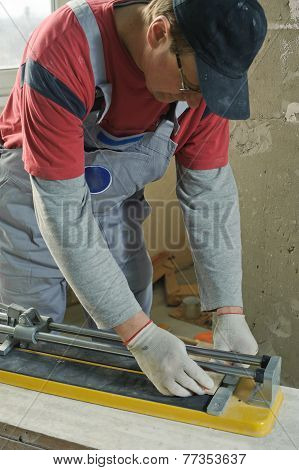 Cutting Ceramic Tiles