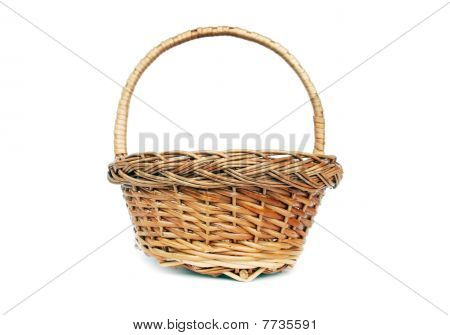 Brown Willow Basket