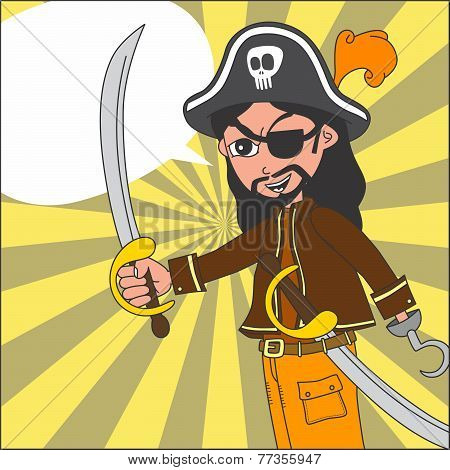 pirate cartoon