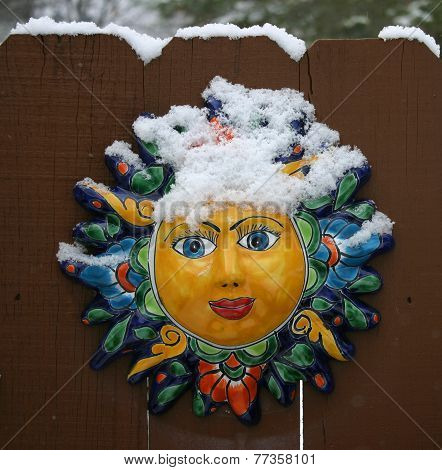 Face With Snow