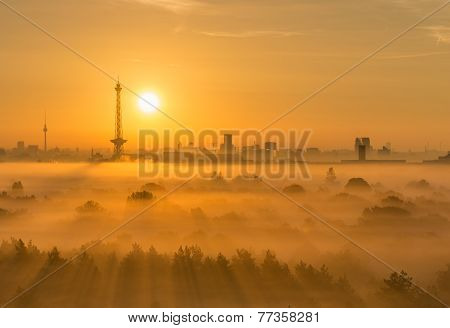 Sunrise In Berlin