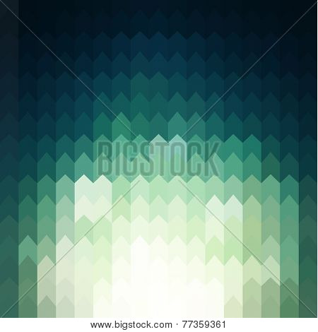 Shiny background with geometric pattern