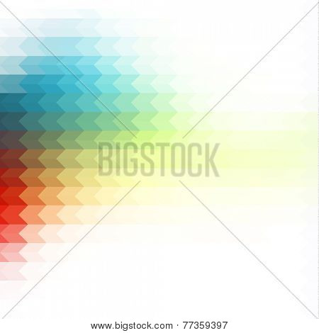 Colorful background with geometric pattern