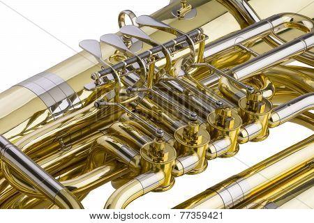 Tuba Detail