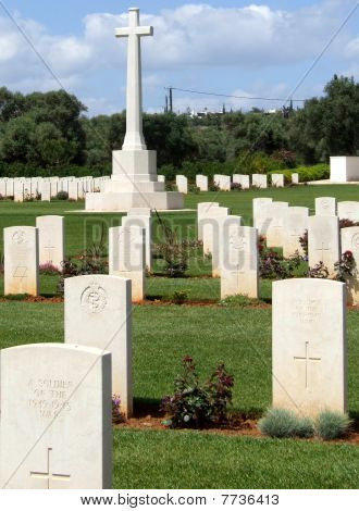 War Graves at Souda Bay