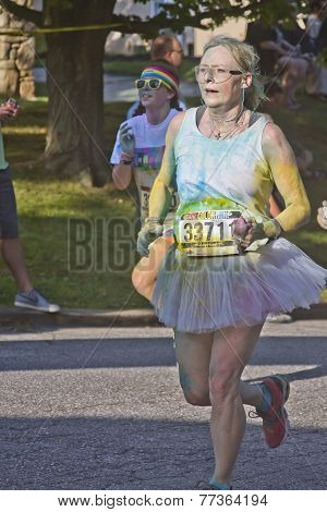 Color Run For All Ages