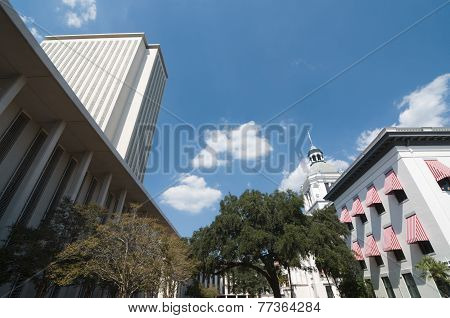 Florida Capitol Buildings in Tallahassee