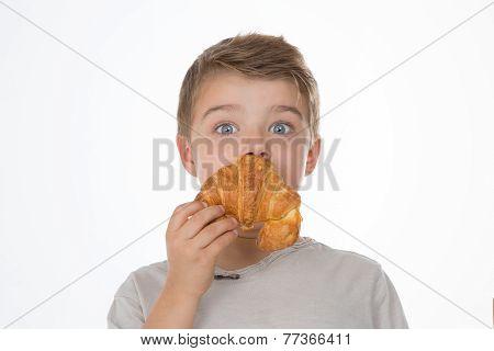 Closeup On Boy