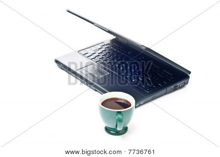 Coffee And Black Notebook