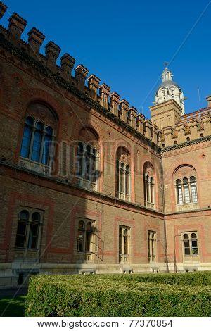 Old Residence of Bukovinian and Dalmatian Metropolitans, now Yuriy Fedkovych Chernivtsi National University
