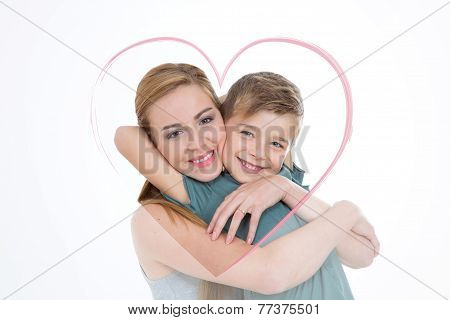 Lovely Portrait Of Boy And Girl