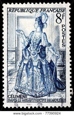 Celimene Stamp