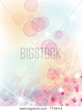 Beautiful pastel background