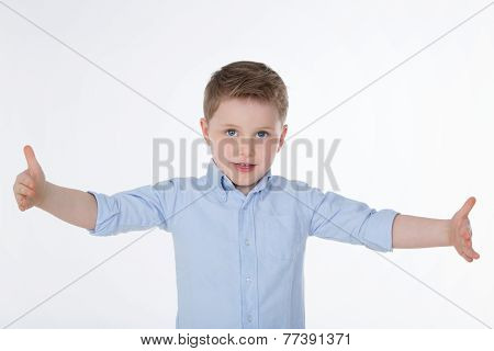 Cute Boy With Shirt