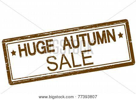 Huge Autumn Sale