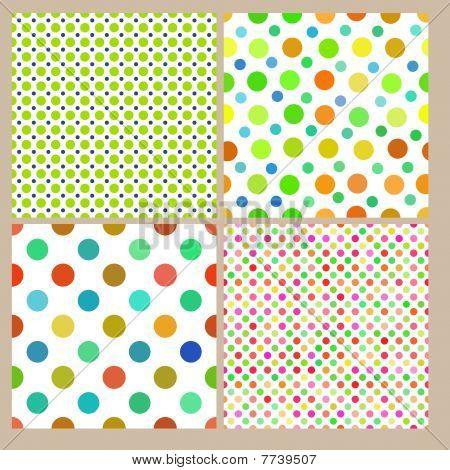 Seamless tiling dot textures