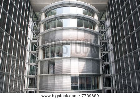 Glass And Steel Cladding