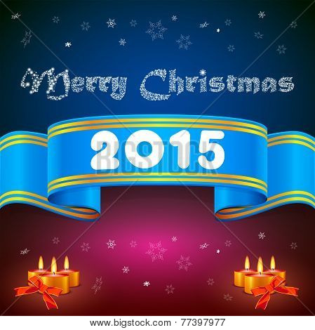 Blue Ribbon 2015, Christmas Background