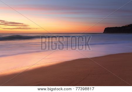 Summer Sunrise Bungan Beach Australia