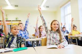 foto of schoolboys  - education - JPG