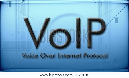 Voip In Blue