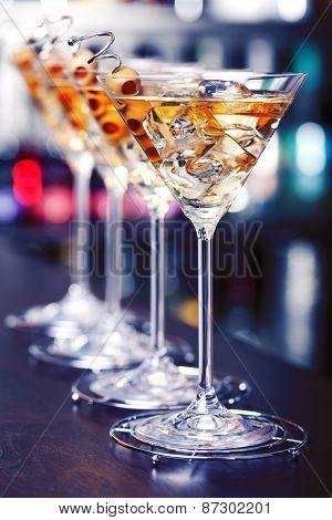 Cocktails Collection - Martini