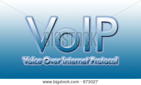 Voip In Sky Blue