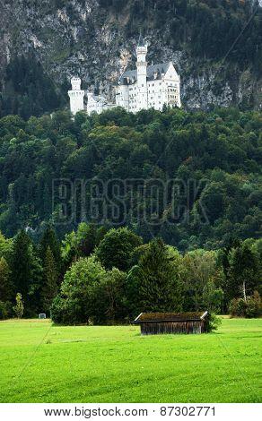 Neuschwanstein Castle, Bavaria, Germany, Europe