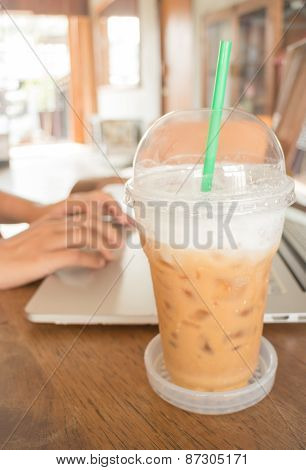 Internet Serving At Espresso Shop