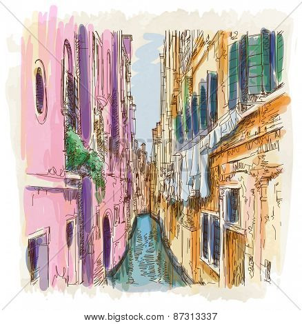 Venice - Calle Frutarol