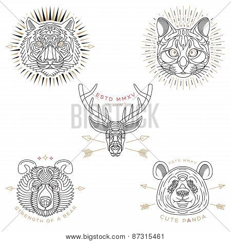 Animal Labels & Badges
