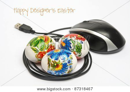 Conceptual Happy Designers Easter