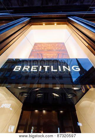 Breitling Flagship Store Facade