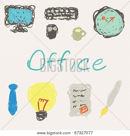 Office Objects.