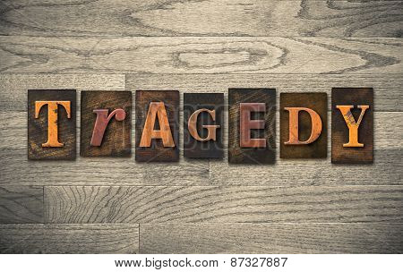 Tragedy Wooden Letterpress Theme
