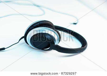Headphones On White 4