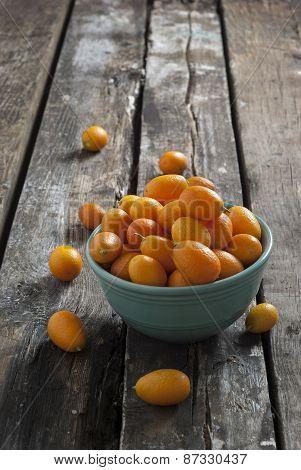Kumquats on the table