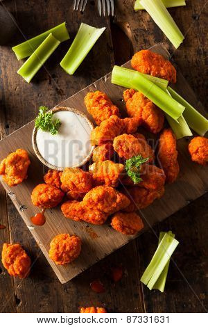 Hot And Spicy Boneless Buffalo Chicken Wings