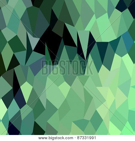 Egyptian Blue Terraces Abstract Low Polygon Background