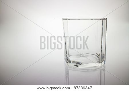 Crystal Empty Glass To Whiskey