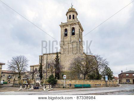Olmillos De Sasamon Church, Burgos