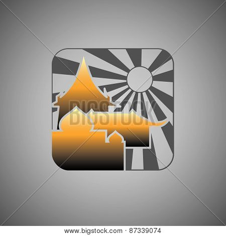 Abstract Icon template.