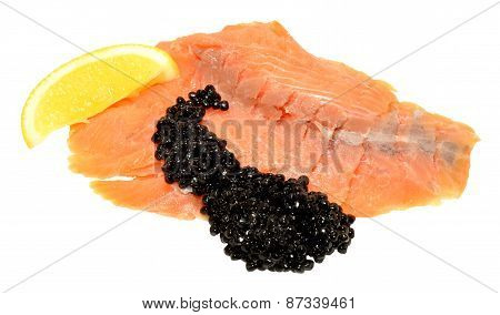 Smoked Salmon And Caviar