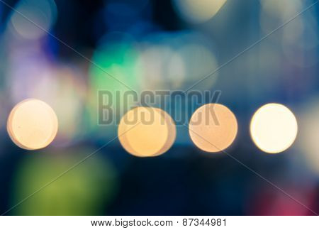 Defocused Colorful Bokeh Spilt Tone  Background