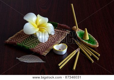 Still-life With Aroma Sticks