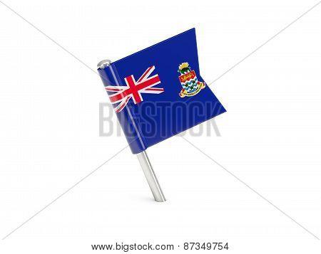 Flag Pin Of Cayman Islands