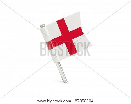 Flag Pin Of England