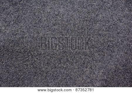 Woolen cloth gray background