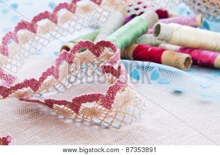Heart shape lace